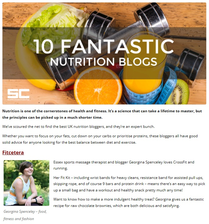 10 Fantastic Nutrition Blogs