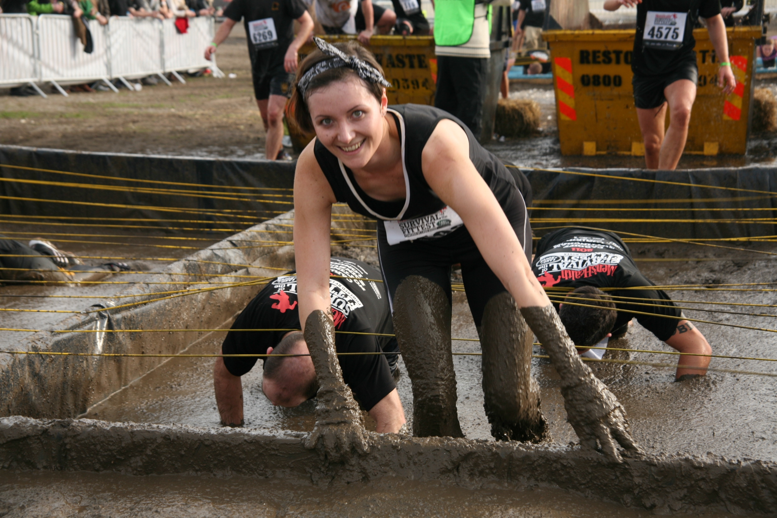 Men's Health Mud Crawl