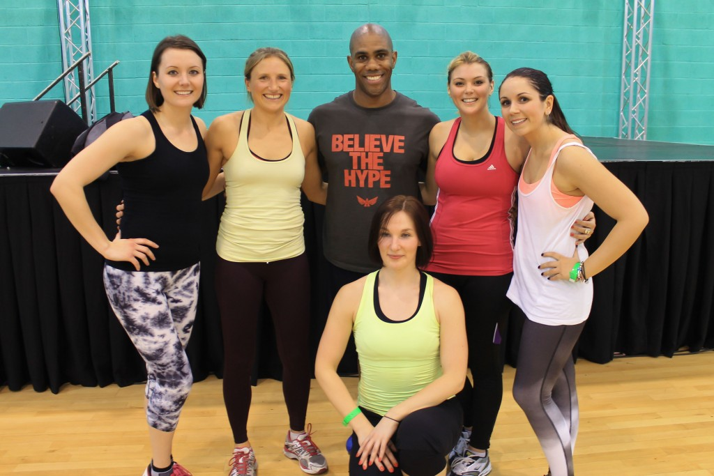 Richard Callender puts the Fitness Writers through their Paces