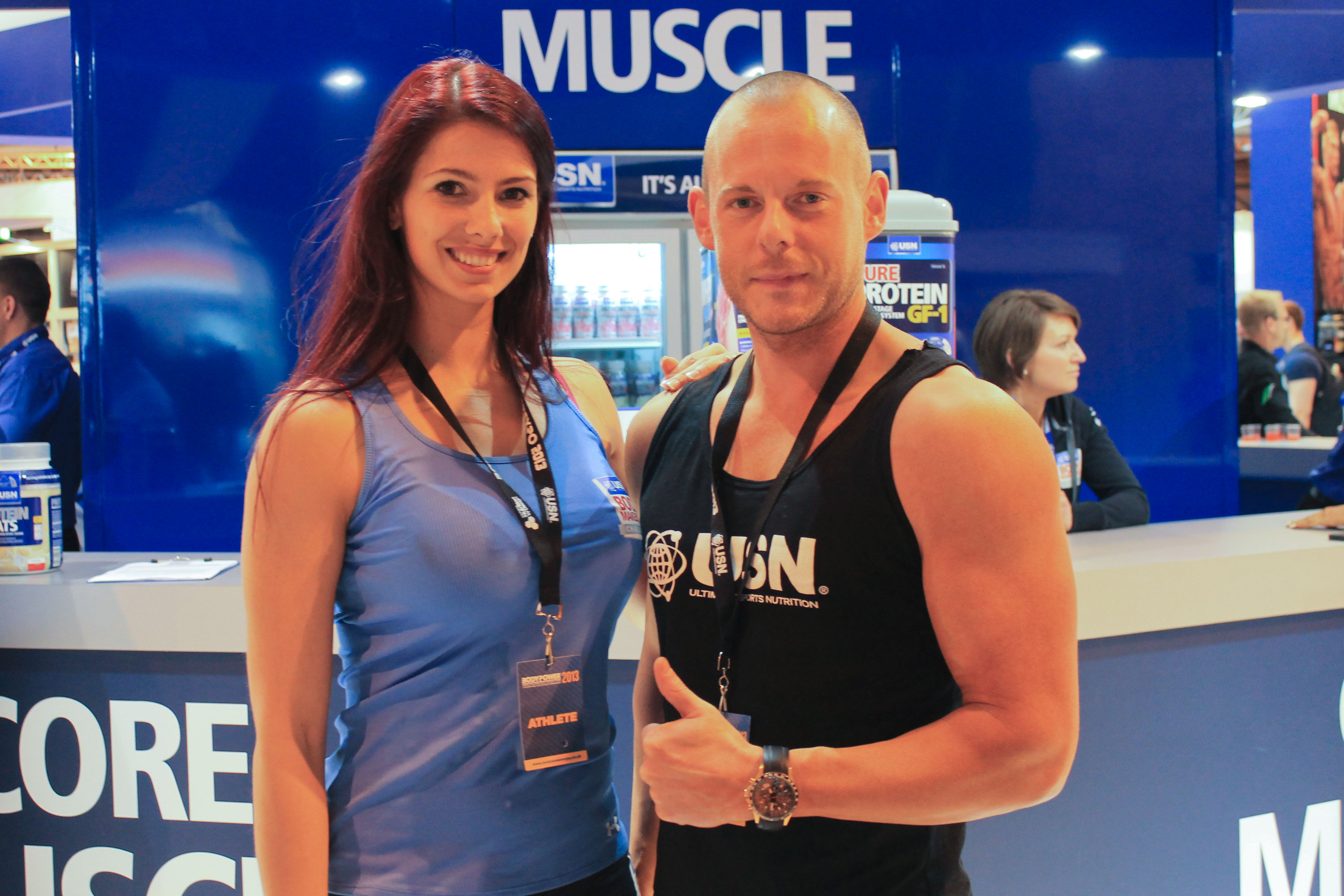 Juliana and Jonny are now USN Ambassadors for a year, part of their fantastic prize for winning the challenge.