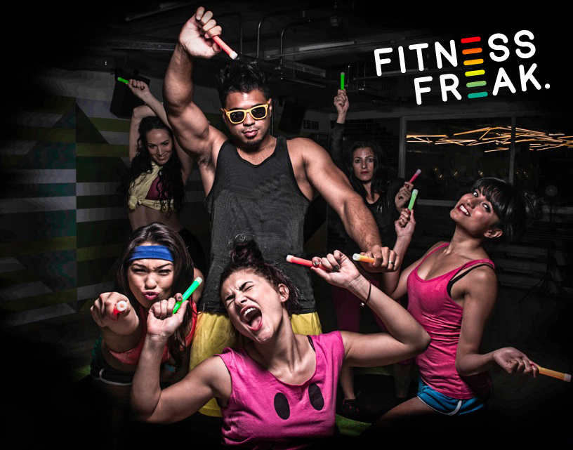 Get your Fitness Freak-in' Rave on!