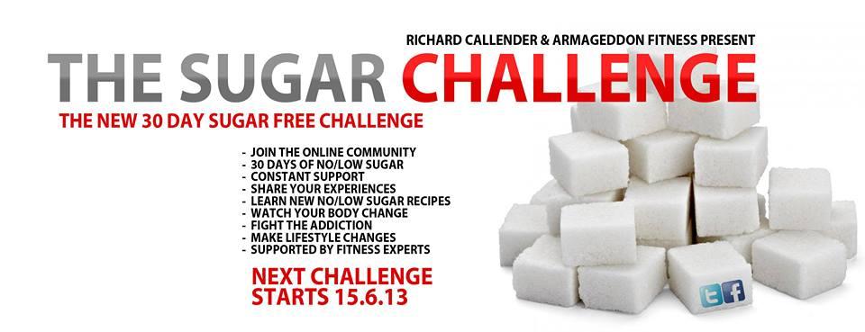 Sugar Challenge Banner