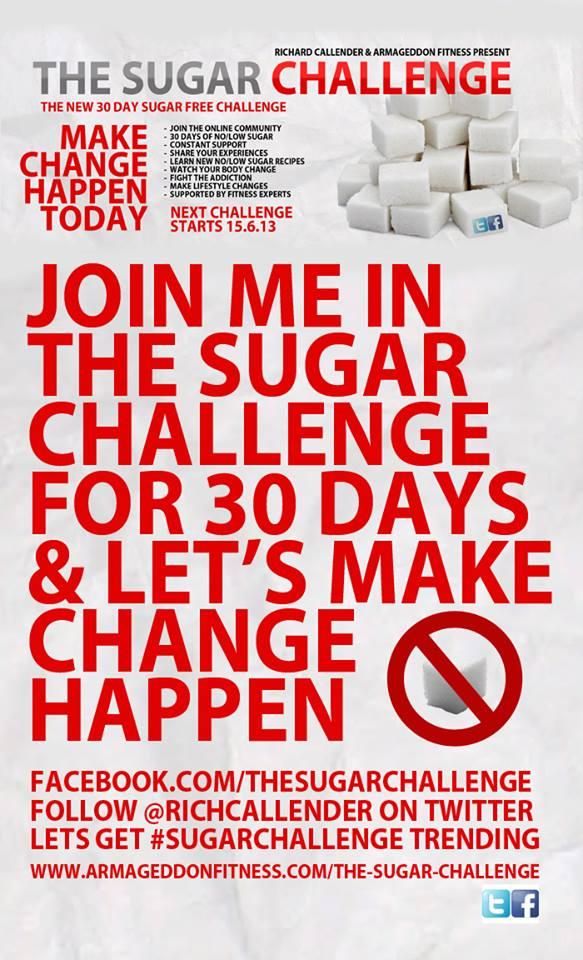Sugar Challenge Poster