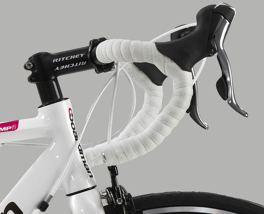 My first foray into road bike handlebars... complete with click gears