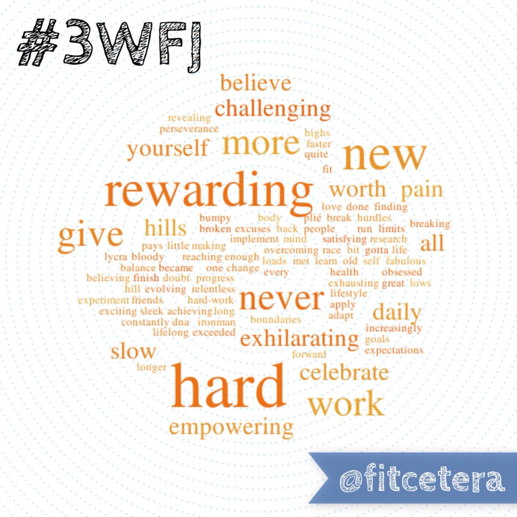 Three Word Fitness Journey
