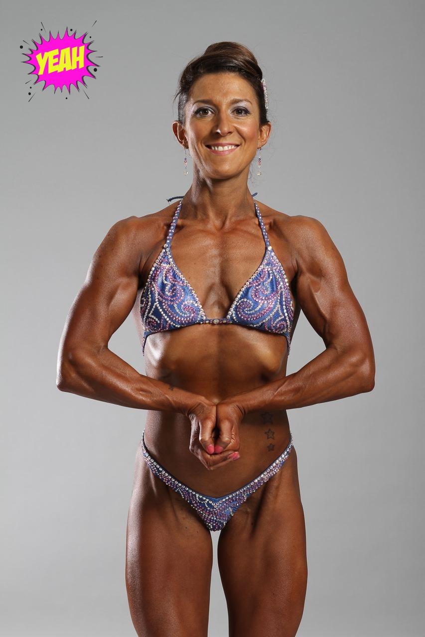 Nicola kiss female bodybuilder