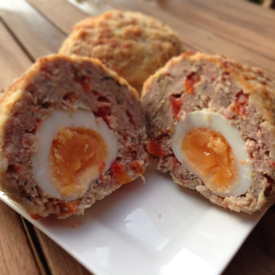 Guest Recipe – FitterLondon's Mighty Manly English Breakfast Scotch Eggs