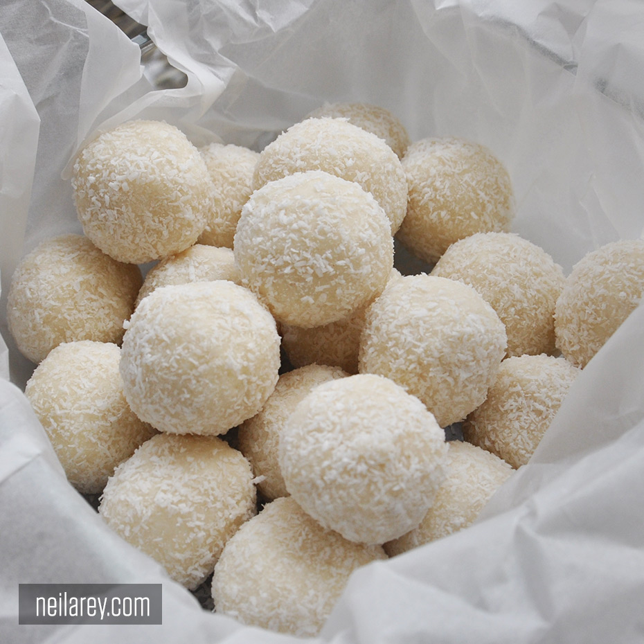 No-Bake Coconut Protein Balls – By Neila Rey