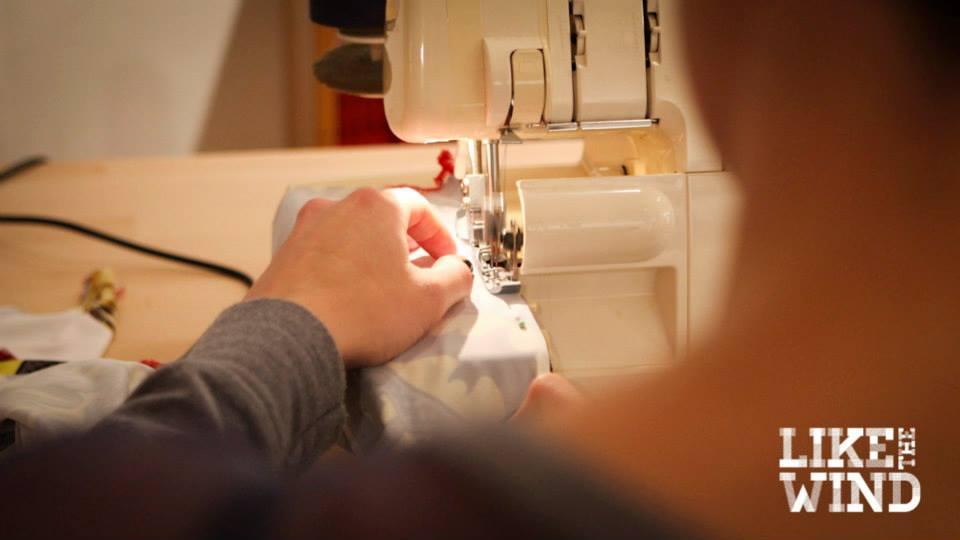 Stitching Away