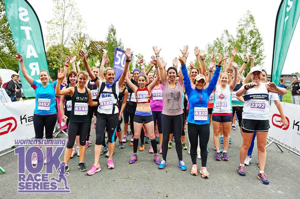 Women's Running 10k Start