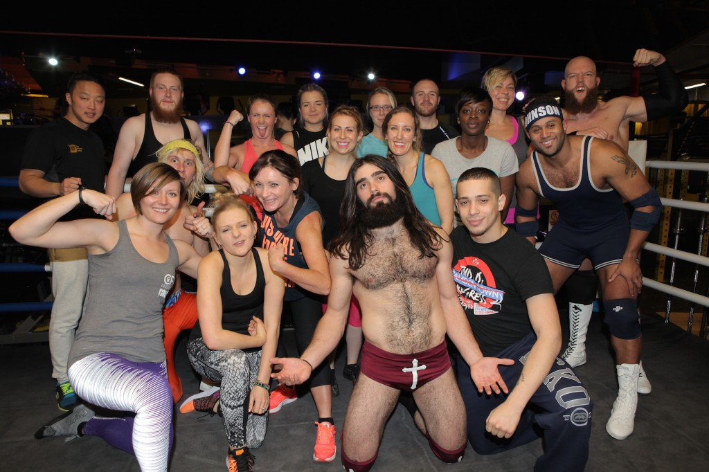 Show Wrestling at Gymbox – Flipping Good Fun