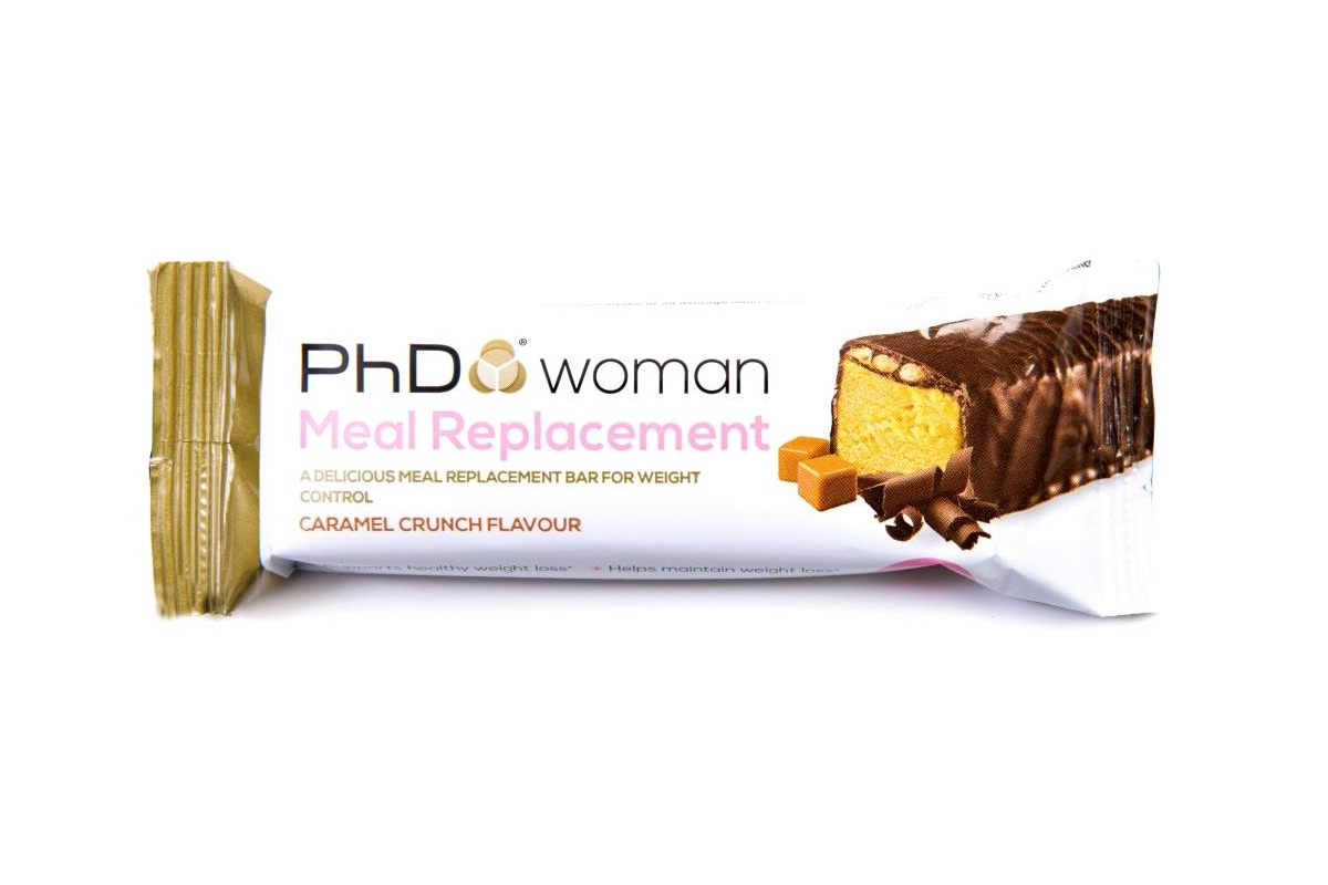 phd woman MRP bar 60g (caramel crunch)