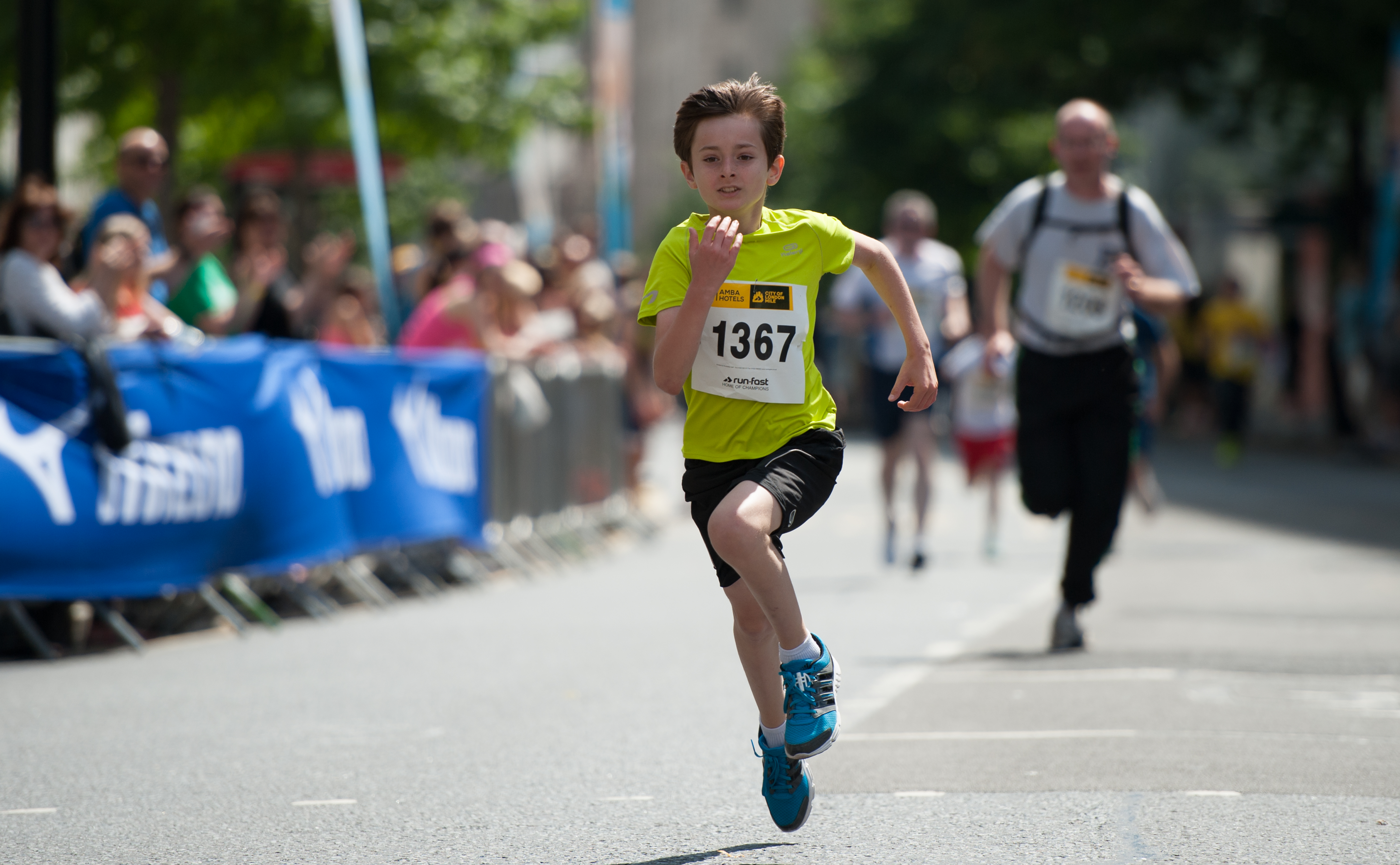 Youth Race Competitor