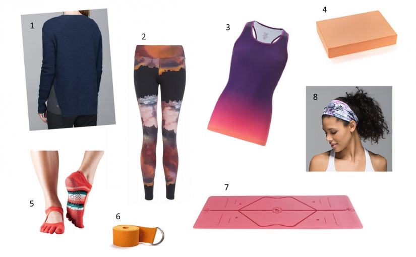 Sunrise Yoga Outfit