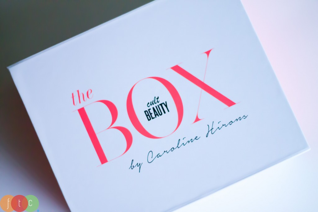 Cult Beauty Box - fancy packaging