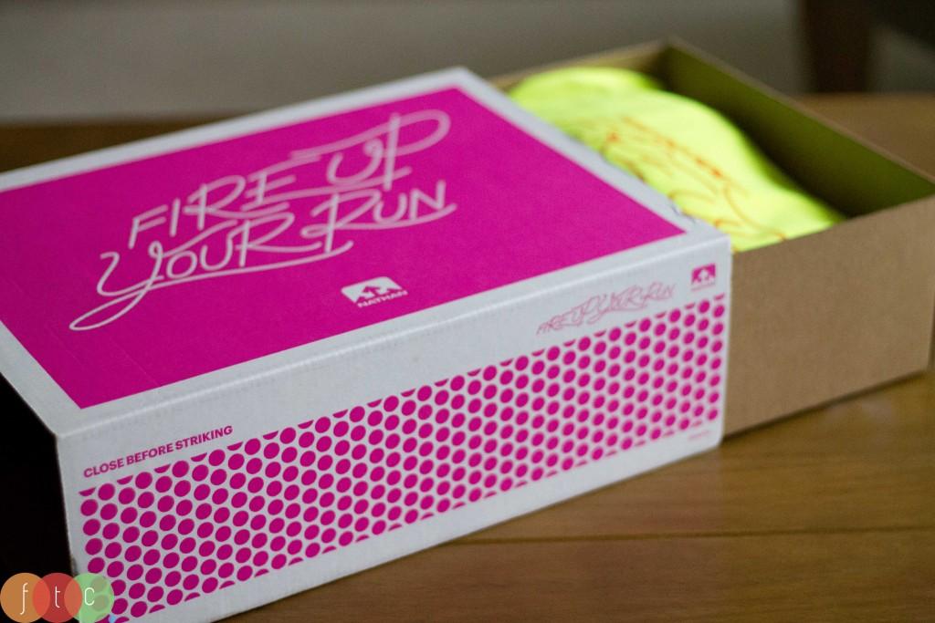 Matchbox-style box Nathan #fireupyourrun