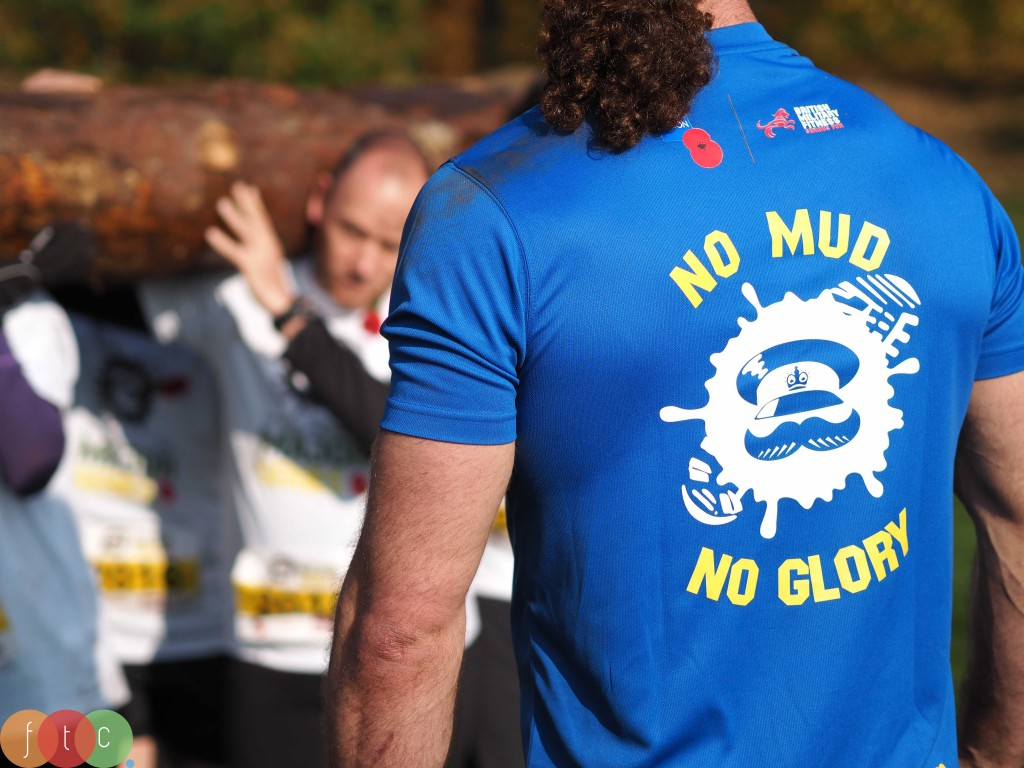 No mud, no glory. The Royal British Legion Major Series catchphrase!