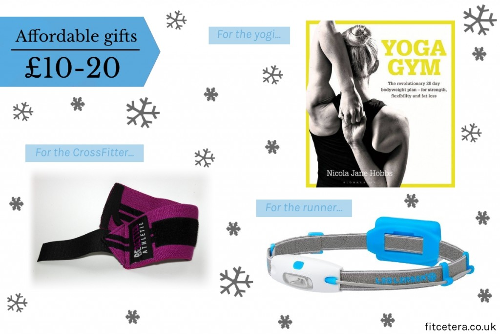 Affordable Gifts For The Runner, Yogi and CrossFitter