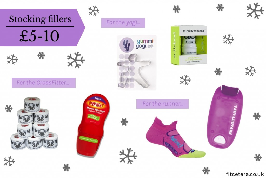 Stocking Fillers For The Runner, Yogi and CrossFitter