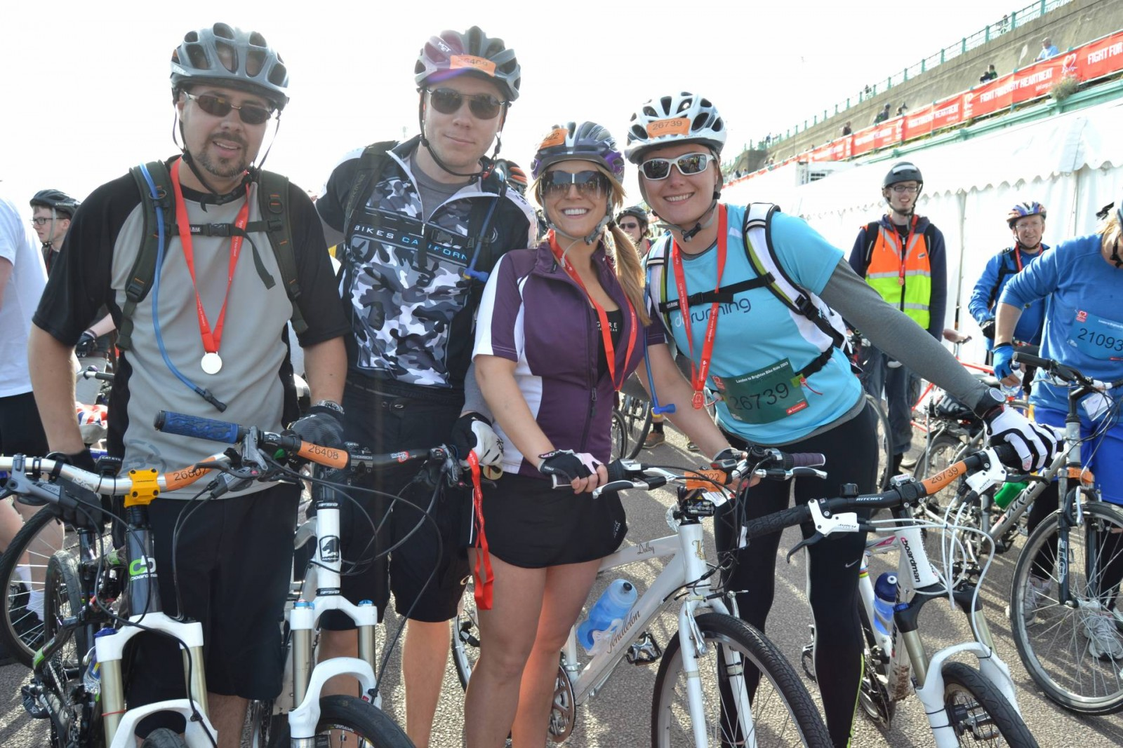 British Heart Foundation London to Brighton Bike Ride