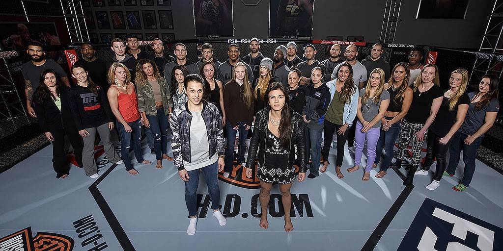 The Ultimate Fighter season 23 cast