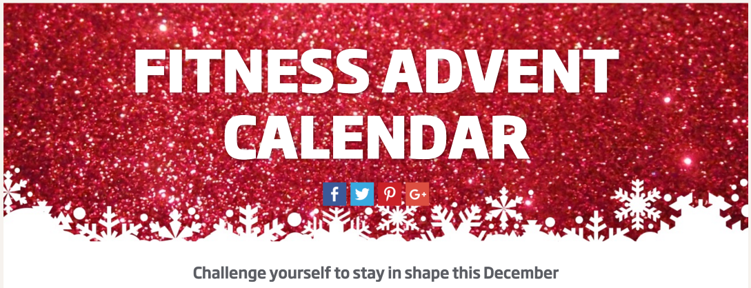 Fitness First Advent Calendar