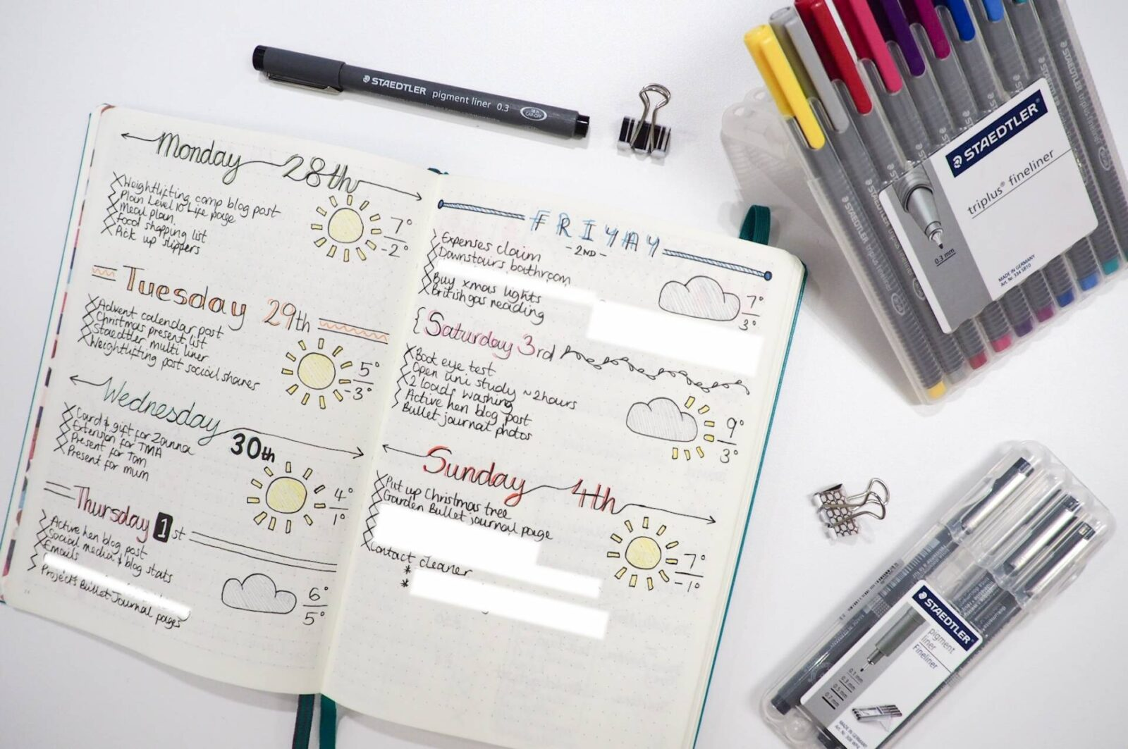 Bullet Journal Daily Log
