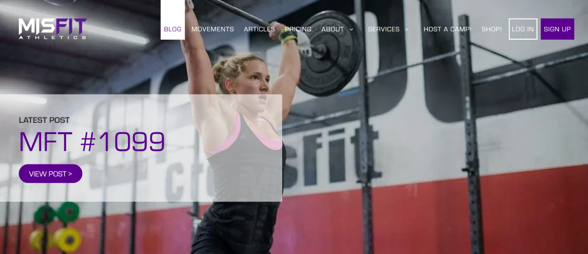 Misfit Athletics CrossFit Programming